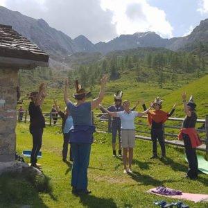 Schamanen und Schamaninnen Kraftvolles Ritual in Oesterreich